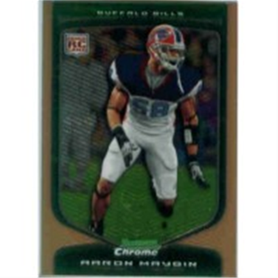 2009 B Chrome Aaron Maybin RB