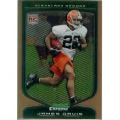 2009 B Chrome James Davis RB