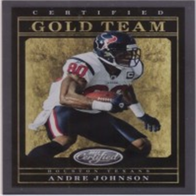 2011 Certified Andre Johnson
