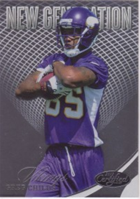 2012 Certified Greg Childs RC