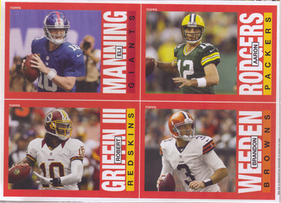 2013 Archives Quad Card Panel