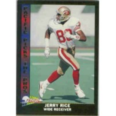 1991 Pacific Jerry Rice PTP