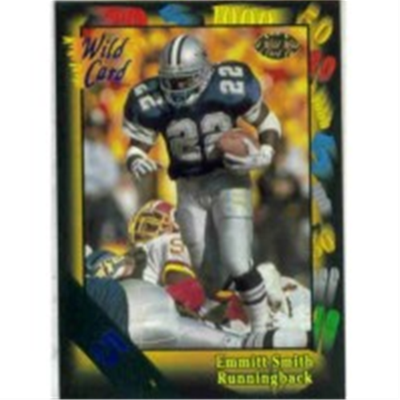 1991 Wild Card Emmitt Smith 5
