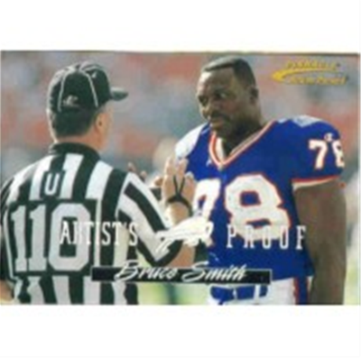 1996 Action Packed Bruce Smith