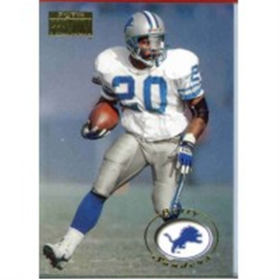 BARRY SANDERS LOT 10 CARDS