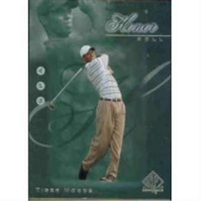 2001 SPA Tiger Woods HR