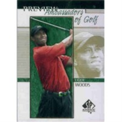 2001 SPP Tiger Woods AG