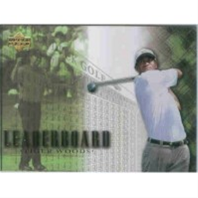 2001 Upper Deck Tiger Woods LB