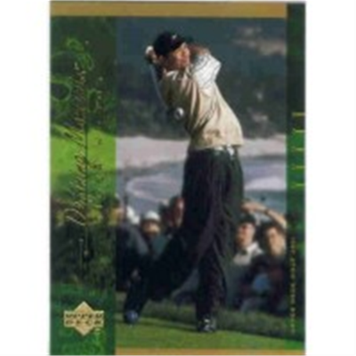 2001 Upper Deck Tiger Woods DM