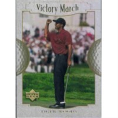2001 Upper Deck Tiger Woods VM