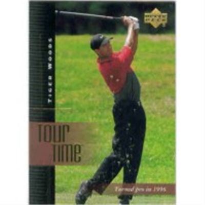 2001 Upper Deck Tiger Woods TT
