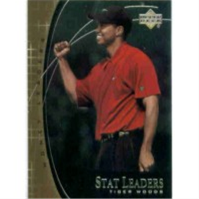 2001 Upper Deck Tiger Woods SL