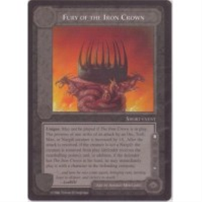 LOTR METW FURY O/T IRON CROWN