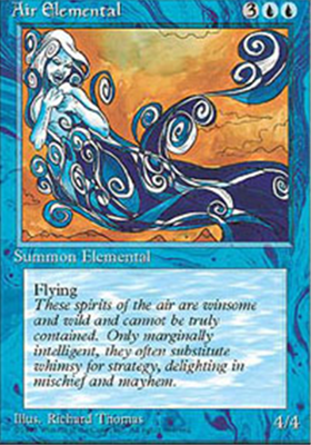 MTG AIR ELEMENTAL