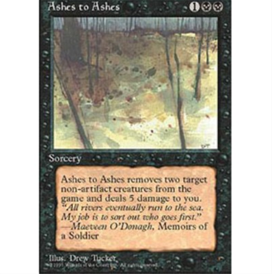 MTG ASHES TO ASHES