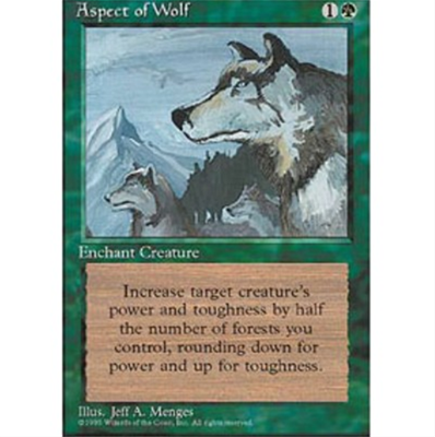 MTG ASPECT OF WOLF