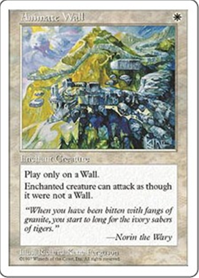 MTG ANIMATE WALL