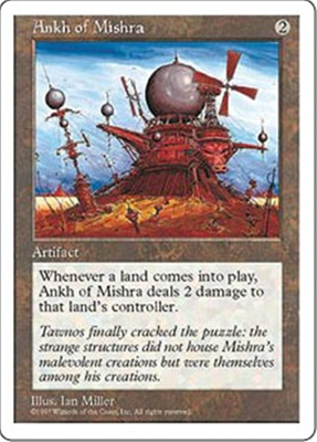 MTG ANKH OF MISHRA