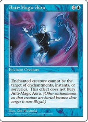 MTG ANTI-MAGIC AURA