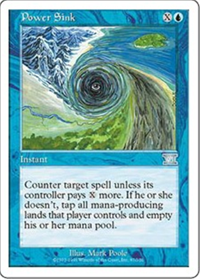 MTG POWER SINK