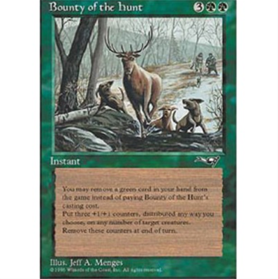 MTG BOUNTY OF THE HUNT