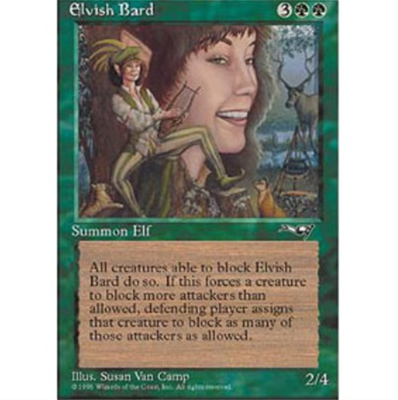 MTG ELVISH BARD