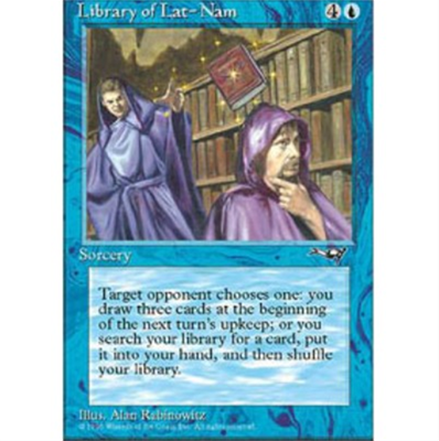 MTG LIBRARY OF LAT-NAM