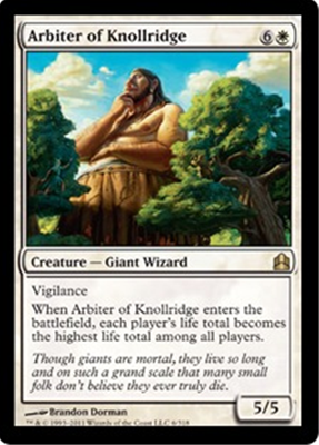 MTG ARBITER OF KNOLLRIDGE