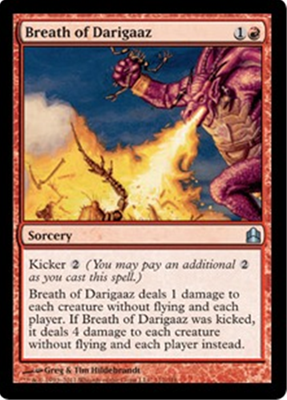 MTG BREATH OF DARIGAAZ