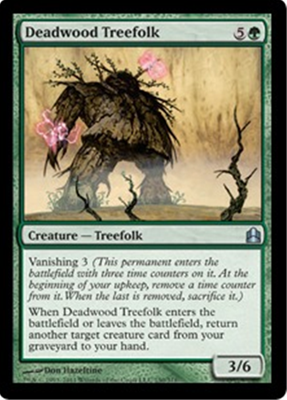 MTG DEADWOOD TREEFOLK