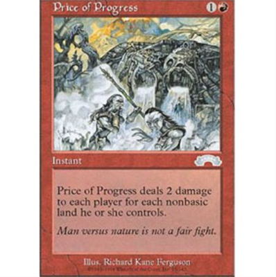 MTG PRICE OF PROGRESS
