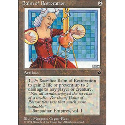 MTG BALM OF RESTORATION