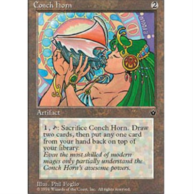 MTG CONCH HORN