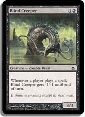 MTG BLIND CREEPER