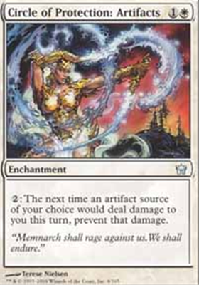 MTG CIRCLE PROTECTION ARTIFACT