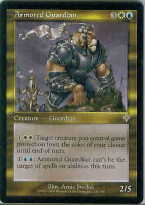MTG ARMORED GUARDIAN