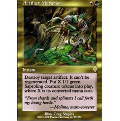 MTG ARTIFACT MUTATION