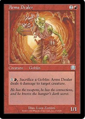 MTG ARMS DEALER