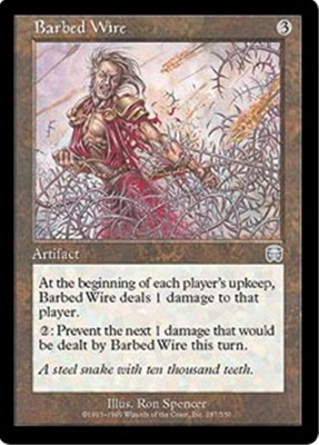 MTG BARBED WIRE