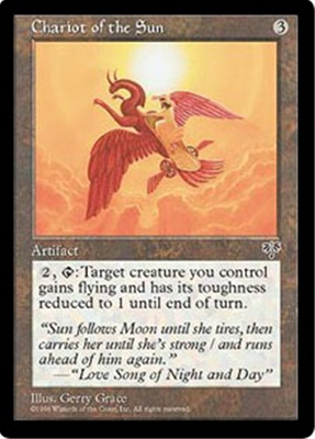 MTG CHARIOT OF THE SUN