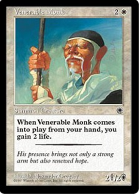 MTG VENERABLE MONK