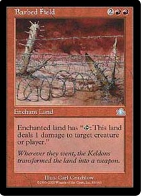 MTG BARBED FIELD