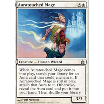 MTG AURATOUCHED MAGE