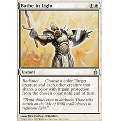 MTG BATHE IN LIGHT