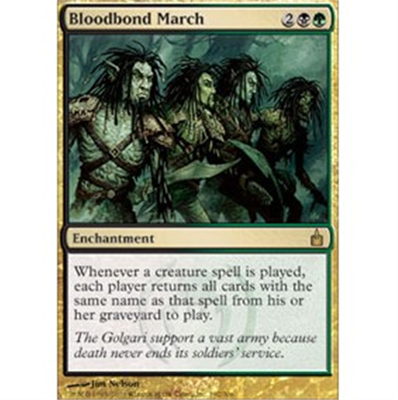 MTG BLOODBOND MARCH