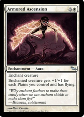MTG ARMORED ASCENSION
