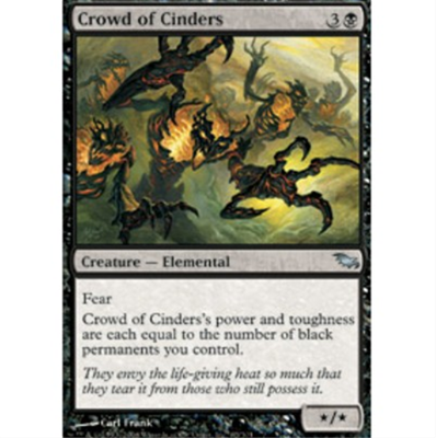 MTG CROWD OF CINDERS