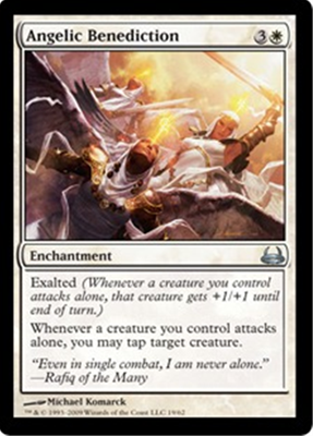 MTG ANGELIC BENEDICTION