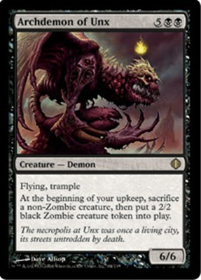 MTG ARCHDEMON OF UNX