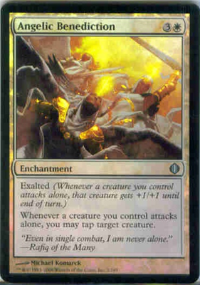 MTG ANGELIC BENEDICTION (FOIL)